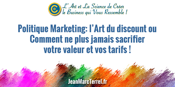 politique marketing discount